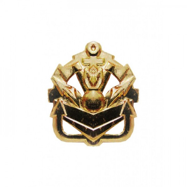 Эмблема петличная инженерные войска без венка золото полиамид