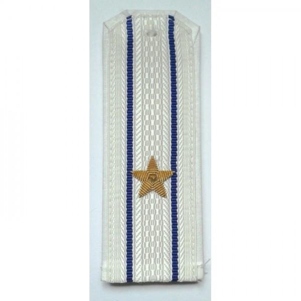 Погоны парадные ФСБ с вышитыми золотом звездами майор